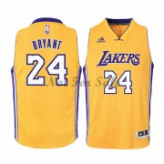 Los Angeles Lakers Barn Basket Linne Kobe Bryant 24# Gold Home..