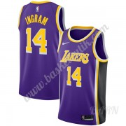 Barn NBA Tröja Los Angeles Lakers 2019-20 Brandon Ingram 14# Lila Statement Edition Swingman..