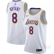 Barn NBA Tröja Los Angeles Lakers 2019-20 Kobe Bryant 8# Vit Association Edition Swingman..