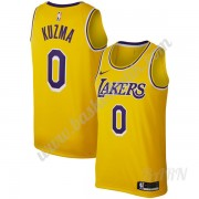 Barn NBA Tröja Los Angeles Lakers 2019-20 Kyle Kuzma 0# Guld Replica Icon Edition Swingman..