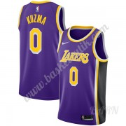 Barn NBA Tröja Los Angeles Lakers 2019-20 Kyle Kuzma 0# Lila Statement Edition Swingman..