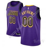Barn NBA Tröja Los Angeles Lakers 2019-20 Lila City Edition Swingman..