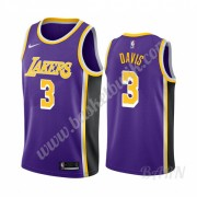 Barn NBA Tröja Los Angeles Lakers 2019-20 Anthony Davis 3# Lila Statement Edition Swingman..