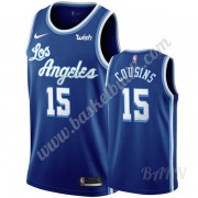 Barn NBA Tröja Los Angeles Lakers 2019-20 DeMarcus Cousins 15# Blå Classics Edition Swingman..