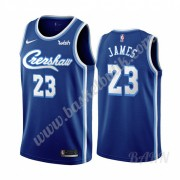 Barn NBA Tröja Los Angeles Lakers 2019-20 LeBron James 23# Blå Classics Edition Swingman..