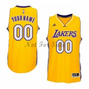 Los Angeles Lakers Basket Tröja Gold Home..