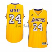 Los Angeles Lakers Basket Linne Kobe Bryant 24# Gold Home..