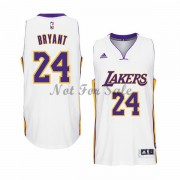 Los Angeles Lakers Basket Linne Kobe Bryant 24# Vit Home..