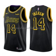 Los Angeles Lakers Basket Tröja 2018 Brandon Ingram 14# City Edition..