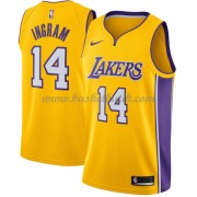 Los Angeles Lakers Basket Tröja 2018 Brandon Ingram 14# Icon Edition..