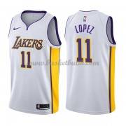 Los Angeles Lakers Basket Tröja 2018 Brook Lopez 11# Association Edition..