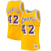Los Angeles Lakers 1984-85 James Worthy 42# Gold Hardwood Classics..