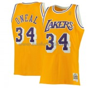 Los Angeles Lakers 1996-97 Shaquille O'Neal 34# Gold Hardwood Classics..
