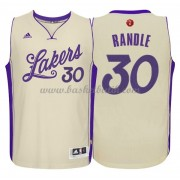 Los Angeles Lakers Basketkläder 2015 Julius Randle 30# NBA Jultröja..