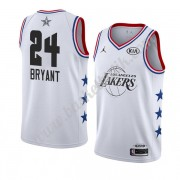 Los Angeles Lakers 2019 Kobe Bryant 24# Vit All Star Game NBA Basketlinne Swingman..