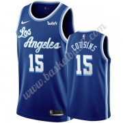 Los Angeles Lakers Basket Tröja 2019-20 DeMarcus Cousins 15# Blå Classics Edition Swingman..