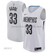 Barn NBA Tröja Memphis Grizzlies 2018 Marc Gasol 33# City Edition..