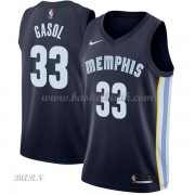 Barn NBA Tröja Memphis Grizzlies 2018 Marc Gasol 33# Icon Edition..
