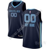 Barn NBA Tröja Memphis Grizzlies 2019-20 Marinblå Icon Edition Swingman