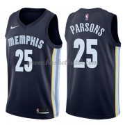 Memphis Grizzlies Basket Tröja 2018 Chandler Parsons 25# Icon Edition..