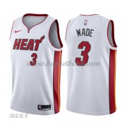 Barn NBA Tröja Miami Heat 2018 Dwyane Wade 3# Association Edition..