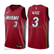 Barn NBA Tröja Miami Heat 2018 Dwyane Wade 3# Statement Edition..
