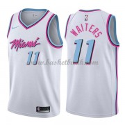 Miami Heat Basket Tröja 2018 Dion Waiters 11# City Edition..