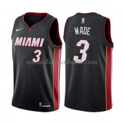 Miami Heat Basket Tröja 2018 Dwyane Wade 3# Icon Edition..