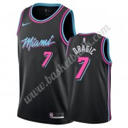 Miami Heat Basket Tröja 2019-20 Goran Dragic 7# Svart City Edition Swingman..