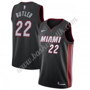 Miami Heat Basket Tröja 2019-20 Jimmy Butler 22# Svart Icon Edition Swingman..