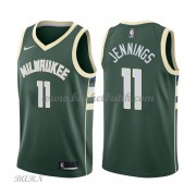 Barn NBA Tröja Milwaukee Bucks 2018 Brandon Jennings 11# Icon Edition..