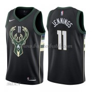 Barn NBA Tröja Milwaukee Bucks 2018 Brandon Jennings 11# Statement Edition..