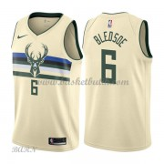 Barn NBA Tröja Milwaukee Bucks 2018 Eric Bledsoe 6# City Edition..