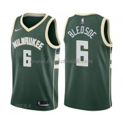 Barn NBA Tröja Milwaukee Bucks 2018 Eric Bledsoe 6# Icon Edition..