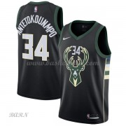 Barn NBA Tröja Milwaukee Bucks 2018 Giannis Antetokounmpo 34# Statement Edition..