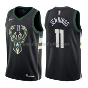 Milwaukee Bucks Basket Tröja 2018 Brandon Jennings 11# Statement Edition..