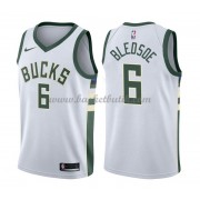 Milwaukee Bucks Basket Tröja 2018 Eric Bledsoe 6# Association Edition..
