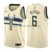 Milwaukee Bucks Basket Tröja 2018 Eric Bledsoe 6# City Edition..