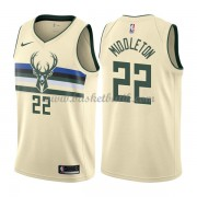 Milwaukee Bucks Basket Tröja 2018 Khris Middleton 22# City Edition..