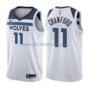 Barn NBA Tröja Minnesota Timberwolves 2018 Jamal Crawford 11# Association Edition..