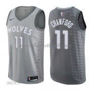 Barn NBA Tröja Minnesota Timberwolves 2018 Jamal Crawford 11# City Edition..