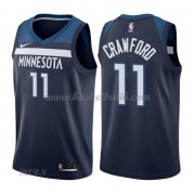 Barn NBA Tröja Minnesota Timberwolves 2018 Jamal Crawford 11# Icon Edition..