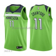 Barn NBA Tröja Minnesota Timberwolves 2018 Jamal Crawford 11# Statement Edition..