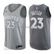 Barn NBA Tröja Minnesota Timberwolves 2018 Jimmy Butler 23# City Edition..