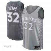 Barn NBA Tröja Minnesota Timberwolves 2018 Karl Anthony Towns 32# City Edition..