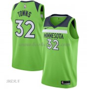 Barn NBA Tröja Minnesota Timberwolves 2018 Karl Anthony Towns 32# Statement Edition..