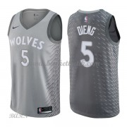 Barn NBA Tröja Minnesota Timberwolves 2018 Karl Gorgui Dieng 5# City Edition..