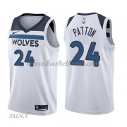 Barn NBA Tröja Minnesota Timberwolves 2018 Karl Justin Patton 24# Association Edition..