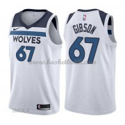 Barn NBA Tröja Minnesota Timberwolves 2018 Taj Gibson 67# Association Edition..