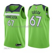 Barn NBA Tröja Minnesota Timberwolves 2018 Taj Gibson 67# Statement Edition..